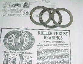 Thrust Roller Bearings (set of 2)