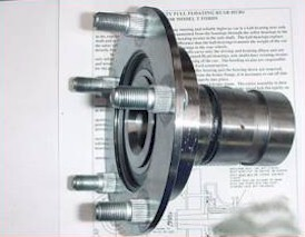 Type 3 Floating Rear Hubs (2 Required)(Wire)